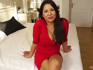 Lord it over plus big assed milf Candi Coxx is fucked by one young dude