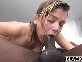 Blacked Keisha Grey Crafty Big Black Male Embrocate - ANALDIN