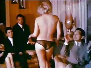 Hot Wife's Striptease Wife Swappers 1965