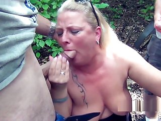 Public rest area Slut, is used dirty by 30 truckers and filled with sperm and piss! Chapter 1 (Attention! Extreme unseat sex)
