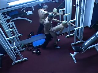 Voyeur angle of sex nearby the gym - Latin-Hot