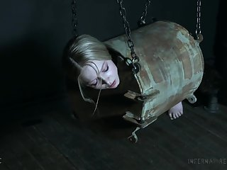 Restrained and submissive Alice