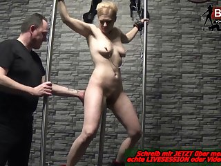 german slave and femdom latex domina
