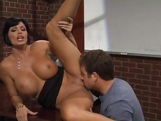 Underhanded Milf Teacher Gives Student A Complying Lesson
