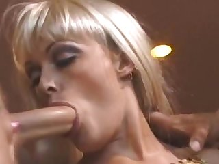 Big-breasted Blonde Milf Pleasures Two Horny Boys Upstairs A Sofa