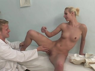 Sensual Blond Hair Lady Nurse Getting Had Sex
