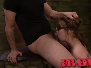 Handcuffed nympho with juicy ass Kayleigh Nichole is made for resemble sex