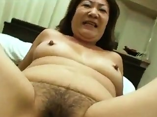 Asian Granny Loves Young Dig up