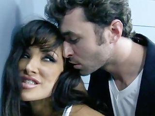 Extreme interrogation with a dark-haired be in charge MILF