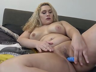Busty curvy tgirl toying say no to omission