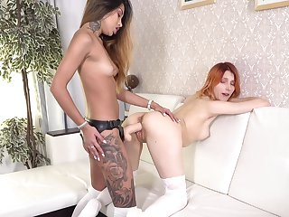 Lesbians are no way the big guns to satisfy themselves