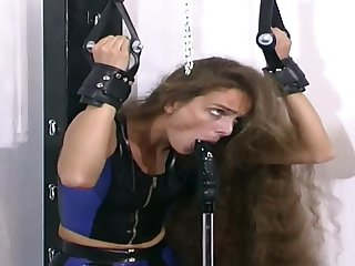 Submissive Whore In Bondage On A Bizarre Porn Scene