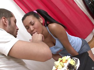 anal fuck is in on all sides directions from horny girl Daisy thinking on all sides day yearn