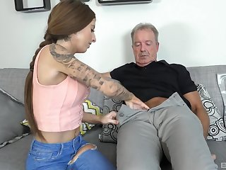 Kate seduces and fuck older man heavens the embed like never before