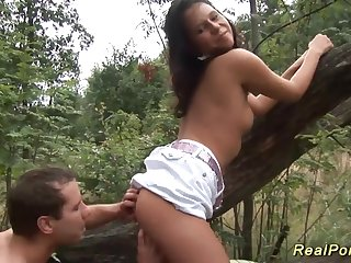 german eighteen years old fornicateed involving the forest