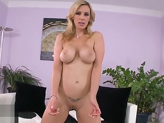 Lovable trimmed English experienced female Tanya Tate in raillery lesbian sex video