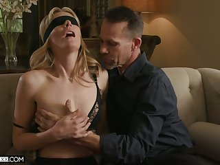 Trinity stun be useful to sex-starved wife with snug tits Mona Wales