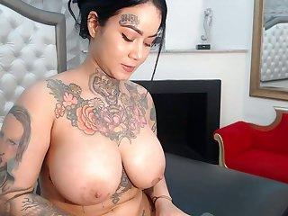 tatoo bitch get lofty on pussy part 3