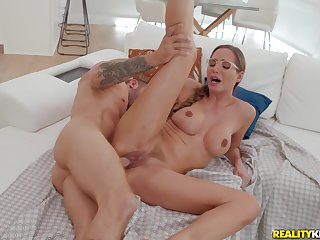 She's married hindrance she doesn't mind fucking will not hear of pretend son