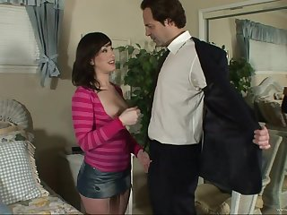 Slutty fake knocker pornstar get anally drilled