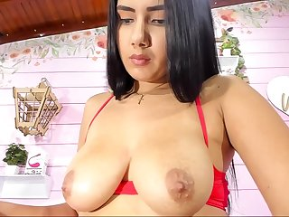 Colombian Girl With Huge Natural Heart of hearts Webcam