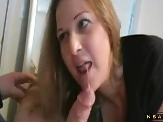 Milf fucked plus works 2 dicks plus makes both sperm