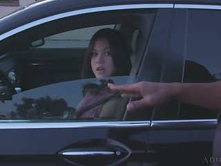 Slutty Asian housewife Kendra Spade is fucked well by insidious cop