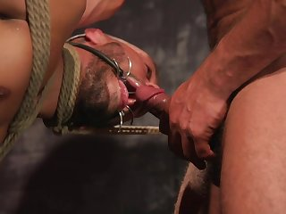 Herculean maledom anal sex for the obedient gay lover