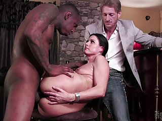 XXX wife tries cuckold sex with a deathly man