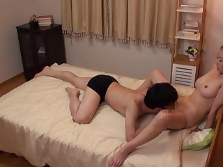 Rough cam action with a busty Japanese wife addicted just about dick