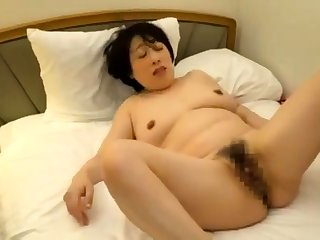 Bartender Snags a Hairy Asian Slut For Hardcore Enjoyment
