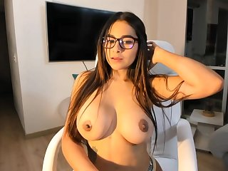 Big-Boobed black-haired says that she is a junky sista be incumbent on Mia Khalifa, unescorted a bit hornier
