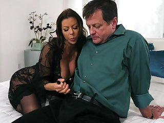 Excellent nude sexual congress with a top woman and a horny man