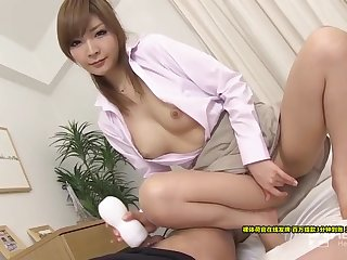 Riona Suzune Do You Want To Buy My Supplies Shaven Beauty Selling Adult Toys