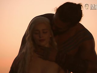 Khal Drogo fucks Khaleesi from Not seriously poke fun at Thrones