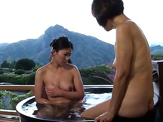 Hot Asian Mama Has Some Hot Hardcore Beguilement Stopping A Shower