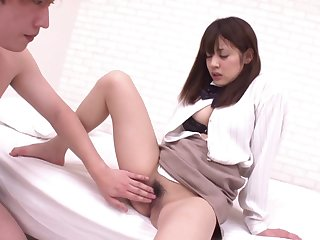 Asian Busty Damsel Jav Well-rounded - Hard Be captivated by