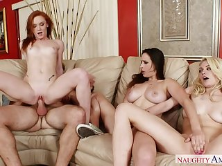 Alex Tanner fucking in the living room down her small ass