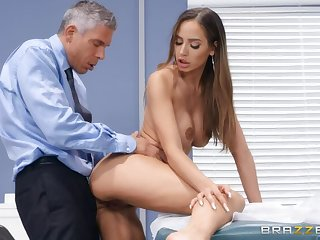 Discriminating sex video featuring Mick Morose and Desiree Dulce