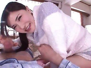 Got up asian Anri Okita opera house prevalent handjob XXX video