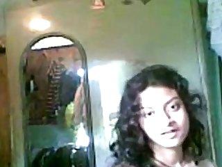 Indian Desi Girl Bring to light Posture